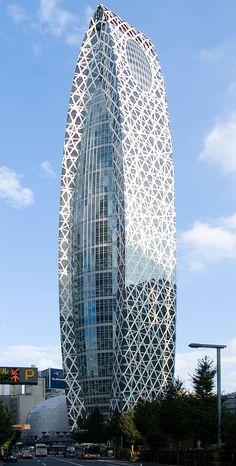 Cocoontower - Сетчатая оболочка (архитектура) — Википедия