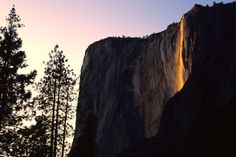 See Horsetail Fall for yourself by clicking the picture for cheap flights to California.