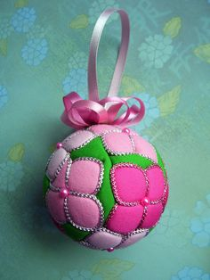 Hydrangea Kimekomi Ornament  Made to Order by OrnamentDesigns, $35.00