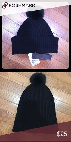 Kenneth Cole Beanie Black Kenneth Cole Beanie/Hat                               Brand new with tags! Kenneth Cole Accessories Hats