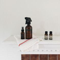 Peppermint + Orange Room Spray and Lavender Linen Spray