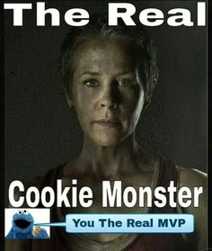 .wtf was with Carol threatening the kid... like what? of course he's going to choose the cookies. maybe?
