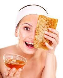 Honing als gezichtsproduct