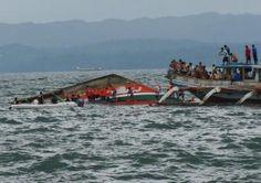 Deja hundimiento de ferry en Filipinas 34 muertos y 70 desaparecidos
