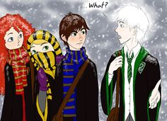 the big four at hogwarts | Pin it 1 Like Image