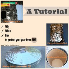 Why, When, How to protect your gear from EMP. A Tutorial. | www.TheSurvivalMom.com