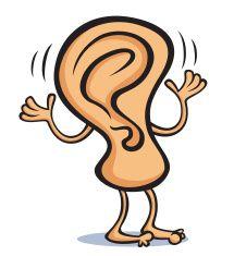 Ear Can Hear vector art illustration