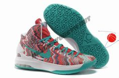 Authentic 554988 016 iD Offers New Graphic Pattern White Court Purple Nike Zoom KD 5 Holiday Promotions
