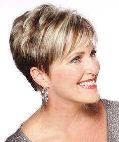 short haircuts for mature women 2014 fall - Google Search