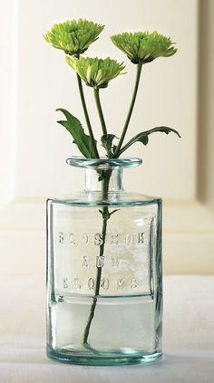 22-Oz 'Blossom' Bottle Vase