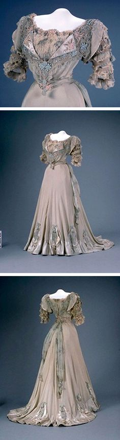 Evening gown, 1907. Canadian Museum of Civilization