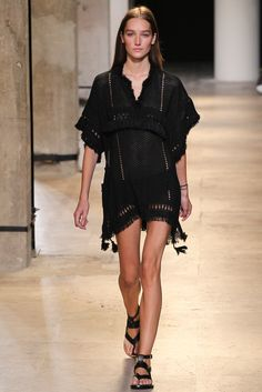 Isabel Marant Spring 2015 Ready-to-Wear Fashion Show - Josephine Le Tutour (Elite)