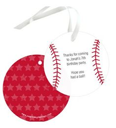 Gift Tags -- Have A Ball