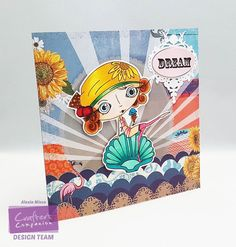 Project created with the Verity Rose collection from Crafter's Companion. #crafterscompanion