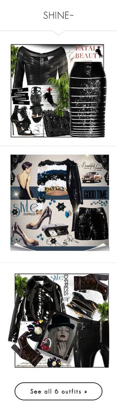 """SHINE~"" by rj-cupcake ❤ liked on Polyvore featuring Dsquared2, Oscar de la Renta, Hervé Léger, Alice + Olivia, Sonia Rykiel, Boohoo, Prada, Yves Saint Laurent, Alyx and Beats by Dr. Dre"