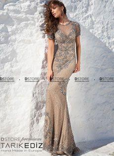 Vestido+Longo+Red+Carpet+em+Net+Bordado+Tarik+Ediz+LUKITA+92648+:+Dstore,+As+Melhores+Grifes+dos+EUA+-+Site+Oficial