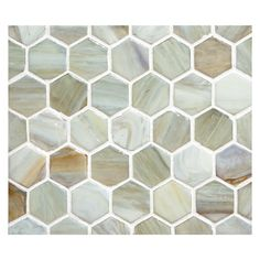 Marbleized glass for floors or walls in kitchens and bathrooms. Hexagon Mosaic Tile, Glass Mosaic Tiles, Pastel Palette, Recycled Glass, Kitchen Flooring, Color Mixing, Natural Stones, Recycling, Nest