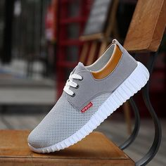 At A Loss Dealing Fashionable Casual Lace-up Sport Male Youth Male Fashionable
