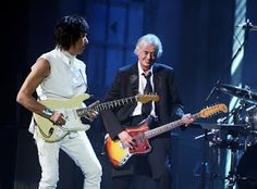 MAGE MUSIC: 2009 Jeff Beck & Jimmy Page, Rock and Roll Hall of Fame