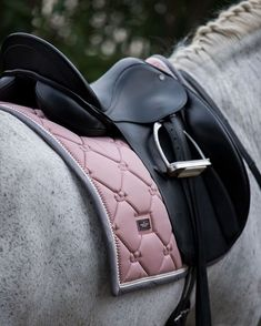 Equestrian Stockholm Dressage Saddle Pad Pink Pearl – # Check more at pferd.zei… Equestrian Stockholm Dressage Saddle Pad Pink Pearl – # Check more at pferd.sit… - Art Of Equitation Equestrian Outfits, Equestrian Style, Equestrian Fashion, English Horse Tack, English Saddle Pads, Dressage Saddle, Horse Fashion, Horse Accessories, Horse Photography