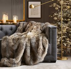 Restoration hardware ultimate faux fur throw 5 luxury gifts to surprise you