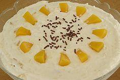 Pfirsichquark mit Milchreis (Rezept mit Bild) von Schnüddi | Chefkoch.de
