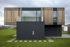 Image 5 of 24 from gallery of Adaptable House / GXN + Henning Larsen. Photograph by Helene Høyer Mikkelsen Residential Architecture, Contemporary Architecture, Amazing Architecture, Interior Architecture, Architecture Diagrams, Architecture Portfolio, Henning Larsen, Modular Housing, Modular Homes