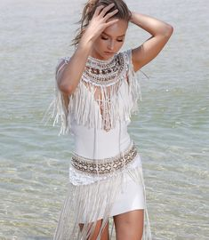 IXIAH { pronounced ex' sy' ah' } is a Sydney-based fashion label whose best known for their textural collections and strong silhouettes with handmade eclectic design aspects. Eclectic Design, Festival Looks, Fashion Labels, Boho Fashion, Cover Up, Savior, Accessories, Clothes, Collection