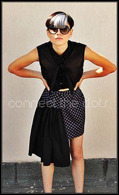 Ido top & tsumuri skirt http://www.etsy.com/shop/RADPLAYGROUND