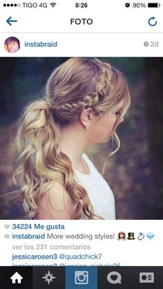 #braids  #braided hairstyles #tree braidshttp://www.pinterest.com/johnFashion/hair-style-long-hair/