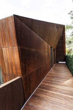 acier corten façade | Steal /// Architecture | Pinterest