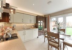 3 bedroom semi-detached house for sale in Downham Road, Runwell, Wickford, - Rightmove. New Homes, New Kitchen, Bloor Homes, Home Kitchens, Property For Sale, Log Home Kitchens, Home, Kitchen Color, New Homes For Sale