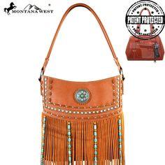 Indian Beaded Fringe Handbag