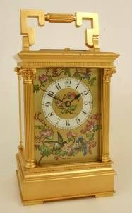 Carriage clocks were once considered very fashionable to own, with nearly every family of means having at least one on a mantle or table.