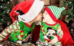 Christmas Photography • Sibling Photography • Santa Claus • Alexis Hines Photography
