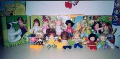 Honey Hill Bunch dolls.  I think between my sister and me, we had the whole gang :)