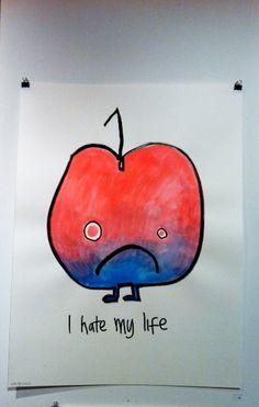 I hate my Life - Jon Burgerman