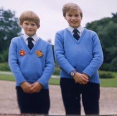HARRY AND BIG BROTHER, WILLIAM..............ccp