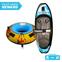 Oceanblu Kneeboard and Inferno Tube Package #flybuysnz #oceanblu #1415points #OFHNZ