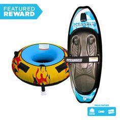 Oceanblu Kneeboard and Inferno Tube Package #flybuysnz #oceanblu #1415points #OFHNZ