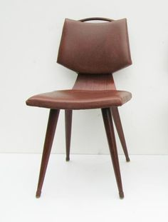 A.A. Patijn; Side Chair for Pastoe, 1950s.