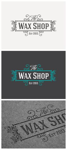 Logottica featuring logo The Wax Shop by ninet6