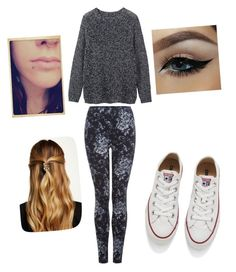 """"""""""" by lenalambert-1 on Polyvore featuring Dex, Toast, Converse, Natasha Accessories, women's clothing, women, female, woman, misses and juniors"""