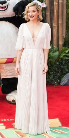 11 Times Celebs Basically Wore Wedding Dresses on the Red Carpet - Kate Hudson from InStyle.com