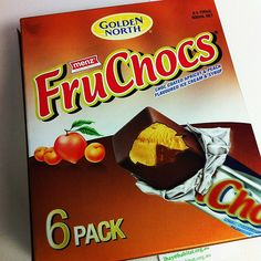 Fruchoc ice creams by Golden North • two great South Australian icons • Adelaide's icons
