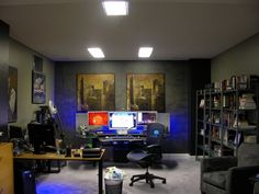 I want an office like this one day.