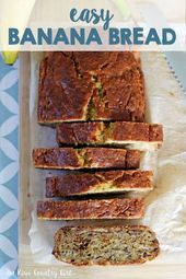 Classic easy banana bread recipe made in 1 bowl, and is ready to eat in 1 hour! … Classic easy banana bread recipe made in 1 bowl, and is ready to eat in 1 hour! Banana Bread French Toast, Easy Banana Bread, Banana Bread Recipes, Coconut Flour, Food To Make, Eat, Desserts, Pret A Manger, Recipes
