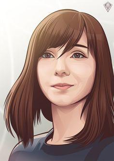 Vexel Portraits 2014 on Behance