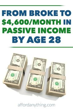 Passive income is the key to financial independence. Learn how Brandon Turner of BiggerPockets achieved $4,600/month in passive income at 28 with real estate investing.