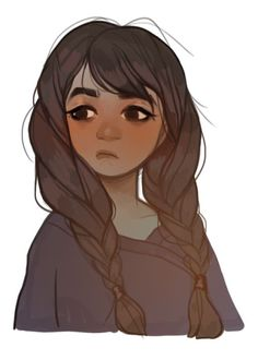 » hair flow » art » drawing » inspiration » illustration » artsy » sketch » pinterest » design » expression » faces » character design »